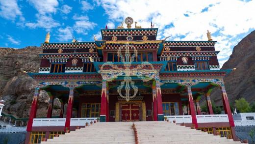 Sakya Gompa in Kaza