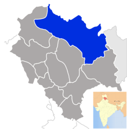The location of Spiti.