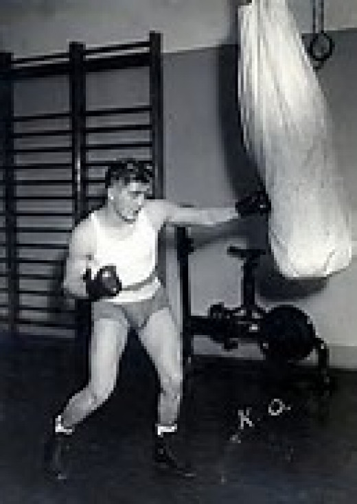 KO Chaney was a top rated featherweight and lightweight during his time in the squared circle.