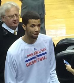 Michael Carter Williams with the Philadelphia Seventy-Sixers
