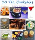 10 Tea Cocktails