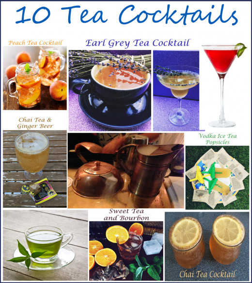 Tea Cocktails
