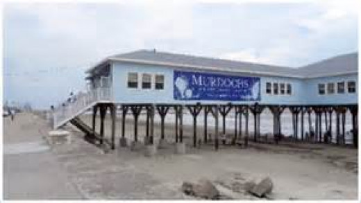 Murdochs was a great place to get souvenirs (rebuilt after Hurricane Ike)