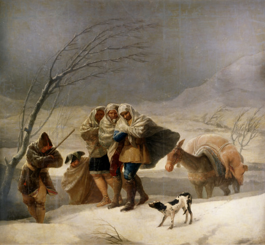 Our ancestors managed to survive these storms, but it was not easy and much of their lives and work was devoted to preparing for the cold weather in the winter months.