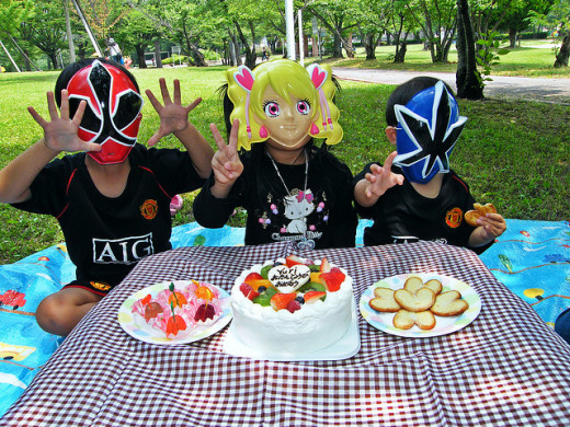Kids Birthday Party in the Park