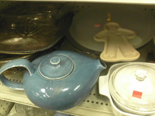 And this Aladdin's lamp seems a big large. Okay, it's a teapot.