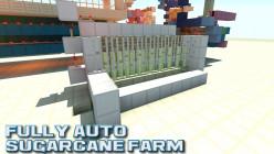 Minecraft Tutorial: Automatic Sugarcane Farm