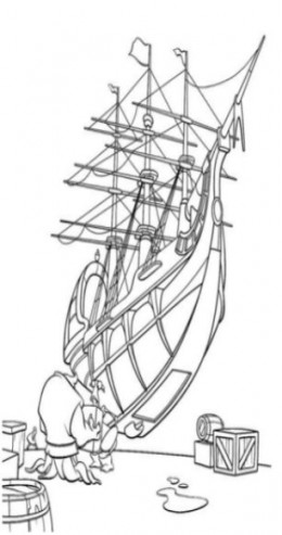 Coloring Pages Nemo. Treasure Planet Coloring Pages
