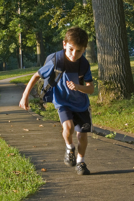 Children with ADHD often have a lot of energy