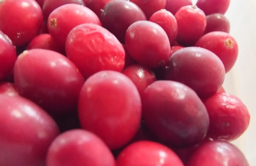 These Organic Cranberries Have an Oblong Shape and Tiny Seeds and Are Less Bitter Than the Conventional Round Ones.