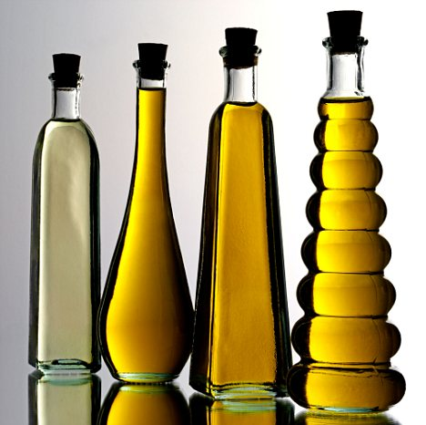 Grapeseed oil, olive oil, and other nourishing oils for your skin.