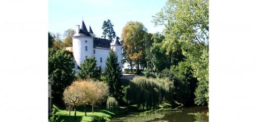Château du Petit Broutet, Pont Chretien, central France