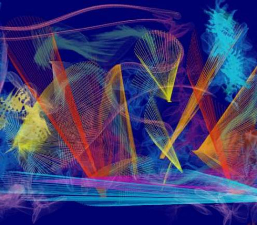 Playing with Particle Brushes in Painter 2015