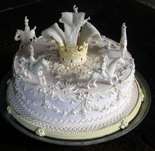A Fancy Twelfth Cake