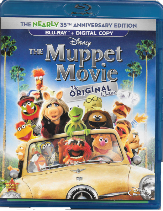 a scan of my own copy of the Muppet movie