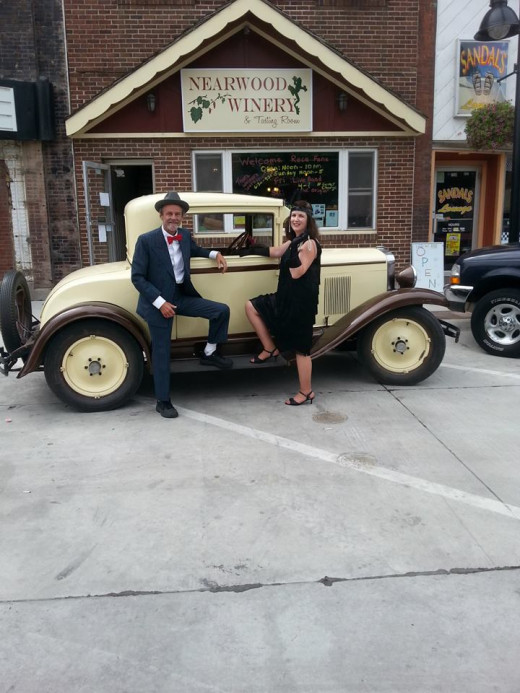 Never know who or what you will find on the Square during the Sprint Car Nationals Parade.   http://www.traveliowa.com/calendar/?id=1613887