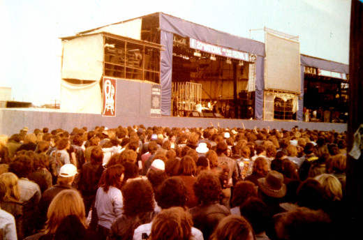 The Reading Rock Festival - either 1979 or 1980...can't quite remember...
