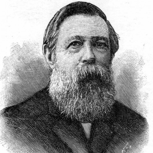 Friedrich Engels: German social scientist, political theorist, author, and collaborator of Karl Marx. (1820-1895)