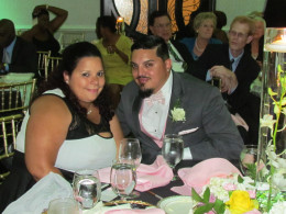 Andres Ramos, Jr., and his wife are best friends of the groom and he served as an attendant.