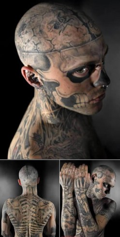 Extremely Modified People - Zombie Boy