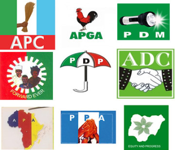 Current Political Parties in Nigeria and their logos