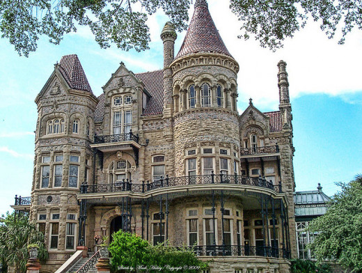 Walter Gresham Castle (also known as Bishops Castle) found on Broadway