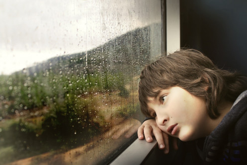Children feel rejected when treated with indifference.