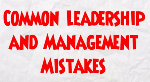 how to develop leadership skills by avoiding common management mistakes