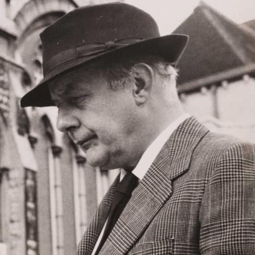 Poet John Betjeman