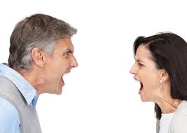 Yelling at your wife for the smallest things.