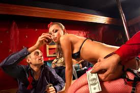 Spending 80% of your off-time with your friends in a strip club.