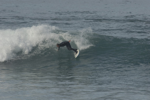 Larry, Big Sur Cutback