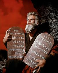 The stone Tablets, with the Ten Commandments written on them. Said to of been written by the hand of God.