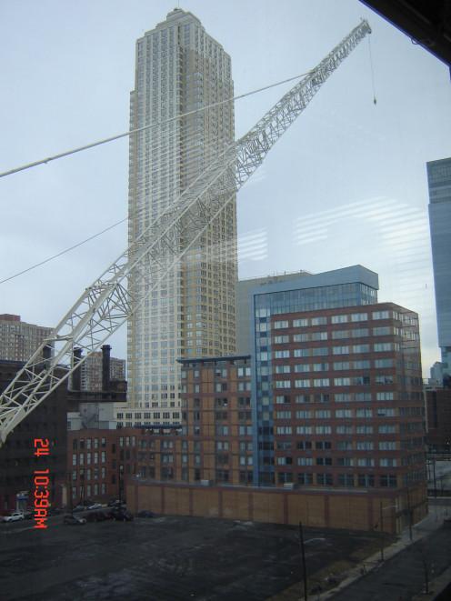 Large Crane Boom, photo taken by Randi Glazer