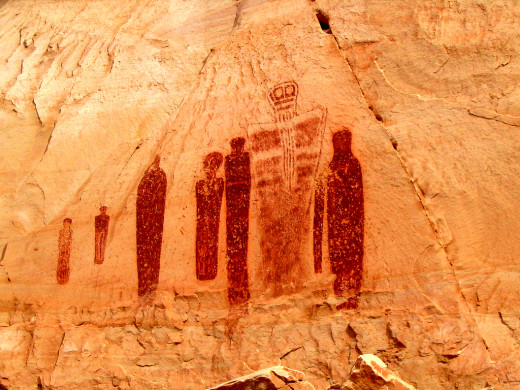 Petroglyphs: Horseshoe Canyon Utah