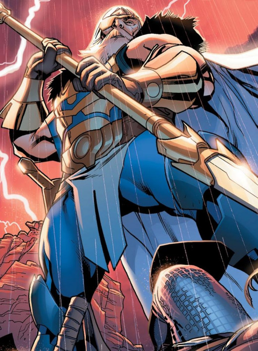 Superman can't defeat a god; Odin