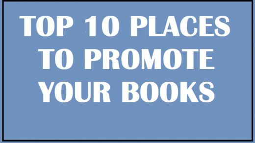 !0 Book Promotion Sites