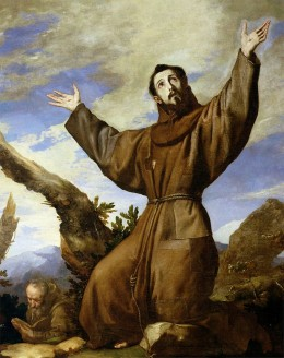 'Saint Francis of Assisi', Jusepe de Ribera,1642