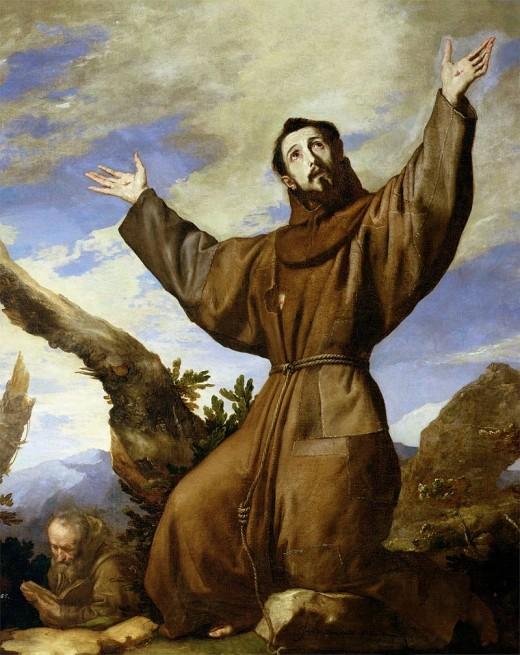 'Saint Francis of Assisi', Jusepe de Ribera,1642