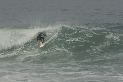 Mitch Dallas shredding in Big Sur