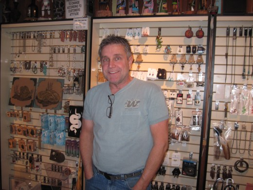 Bob Myers Rattlesnake Museum Creator and Owner