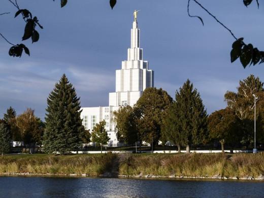Mormon Temple Idaho Falls Idaho
