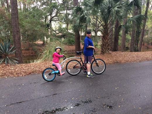 Bike Riding in Sea Pines