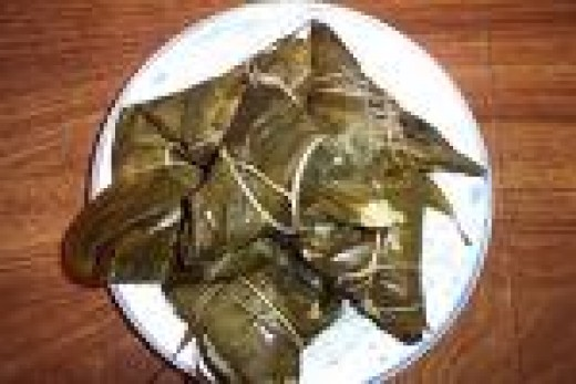Zongzi Is The Traditional Food Of The Dragon Boat Festival
