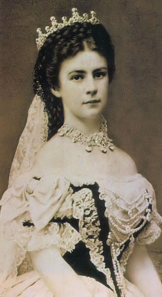 'Photo of Empress Elisabeth of Austria', 1867
