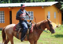 horseback is common method of transportation