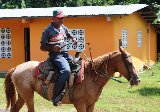 horseback is common method of transportation