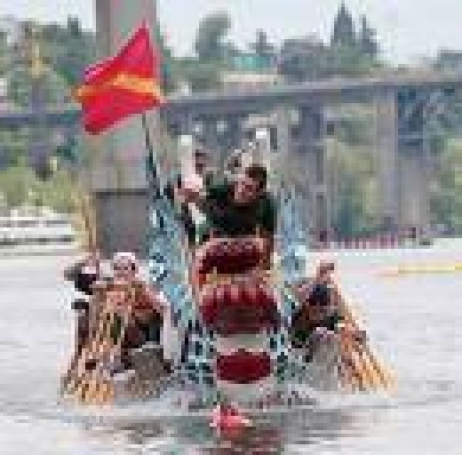 Dragon Boat Racing Is One Of The Most Popular Activities During The Dragon Boat Festival