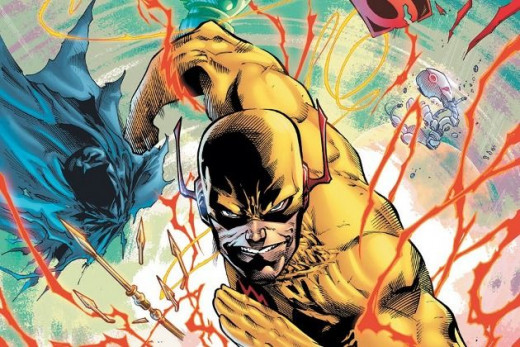 Superman and Zoom are matched in strength,