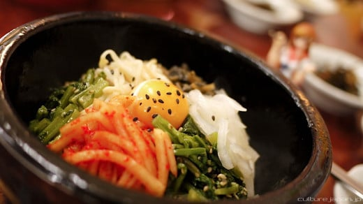There are a variety of bibimbap available in Korea. A unique and tasty dish indeed.
